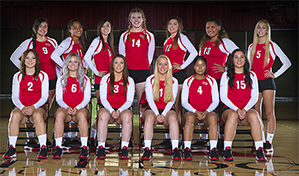 2016 Volleyball Team