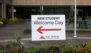 Welcome Day Directions