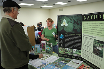 Meet with vendors and exhibitors from conservation groups and sustainability minded businesses.