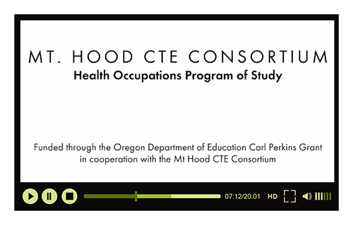Health Occupations Video