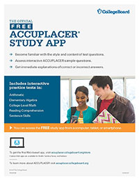 Accuplacer Study