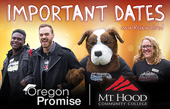 Important Dates - Oregon Promise
