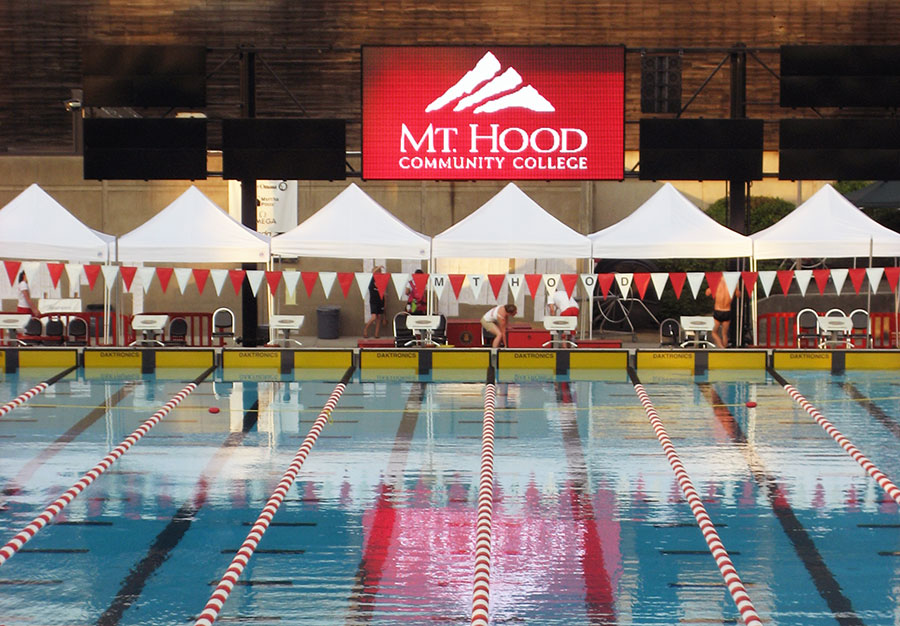Dive in and cool off this summer at the mhcc aquatic center for Mt hood community college pool open swim