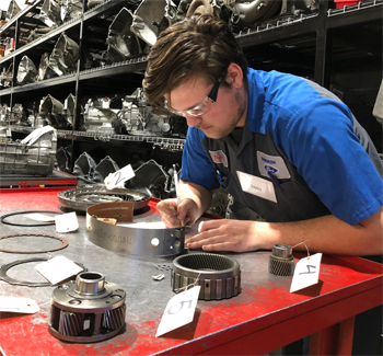 Trevor Enquist won a Gold Medal in March for his performance at SkillsUSA's Oregon competition. In June, he'll head to SkillsUSA nationals in Kentucky.